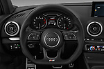 Car pictures of steering wheel view of a 2017 Audi S3 Premium-Plus 4 Door Sedan Steering Wheel