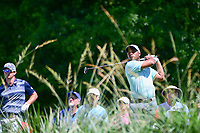 Harold Varner III (USA) watches his tee shot on 10 during round 2 of the Shell Houston Open, Golf Club of Houston, Houston, Texas, USA. 3/31/2017.<br /> Picture: Golffile | Ken Murray<br /> <br /> <br /> All photo usage must carry mandatory copyright credit (&copy; Golffile | Ken Murray)