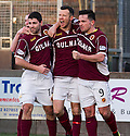 Stenny's Eddie Malone (centre) celebrates with Ross McNeil (14) and Sean Higgins (9)<br /> after he scores the late equaliser. <br /> <br /> <br /> 15/02/2014   jspa010_smuir_v_efife     <br /> Copyright  Pic : James Stewart   <br /> <br /> James Stewart Photography 19 Carronlea Drive, Falkirk. FK2 8DN      Vat Reg No. 607 6932 25   Tel:  +44 (0)7721 416997<br /> E-mail  :  jim@jspa.co.uk   If you require further information then contact Jim Stewart on any of the numbers above........