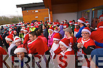 Taking part in the Santa 5k fun run at Tralee Bay Wetlands on Sunday
