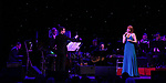 Andrew Lippa and Kate Baldwin with Orchestra on stage at the Dramatists Guild Foundation 2018 dgf: gala at the Manhattan Center Ballroom on November 12, 2018 in New York City.