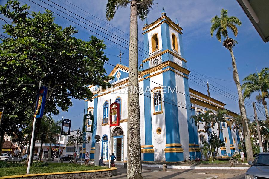 Igreja Matriz de Ubatuba. São Paulo. 2007. Foto de João Caldas.