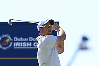 Sam Horsfield (ENG) tees off the 3rd tee during Friday's Round 2 of the 2018 Dubai Duty Free Irish Open, held at Ballyliffin Golf Club, Ireland. 6th July 2018.<br /> Picture: Eoin Clarke | Golffile<br /> <br /> <br /> All photos usage must carry mandatory copyright credit (&copy; Golffile | Eoin Clarke)