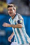 Lionel Messi (ARG), JULY 1, 2014 - Football / Soccer : FIFA World Cup Brazil 2014 Round of 16 match between Argentina 1-0 Switzerland at Arena de Sao Paulo in Sao Paulo, Brazil. (Photo by Maurizio Borsari/AFLO)