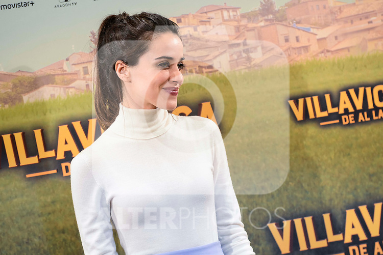 "Macarena Garcia attends to the presentation of the spanish film "" Villaviciosa de al lado"" in Madrid, Spain. November 29, 2016. (ALTERPHOTOS/BorjaB.Hojas)"
