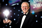 © Joel Goodman - 07973 332324 . 03/03/2016 . Manchester , UK . Lifetime Achievement Award winner GRAEME K JUMP, of Weightmans . The Manchester Legal Awards from the Midland Hotel . Photo credit : Joel Goodman