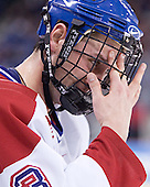 Grant Farrell - The Boston College Eagles defeated the University of Massachusetts-Lowell River Hawks 4-3 in overtime on Saturday, January 28, 2006, at the Paul E. Tsongas Arena in Lowell, Massachusetts.