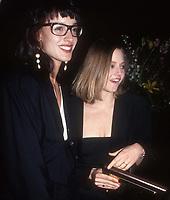 Jennifer Beals Jodi Foster 1990<br /> Photo By John Barrett/PHOTOlink.net / MediaPunch