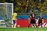 Andre Schurrle of Germany scores a goal to make it 0-6