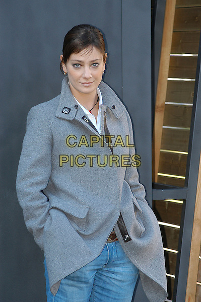 "GIOVANNA MEZZOGIORNO.Photocall for film ""L'Amore Ai Tempi Del Colera"" in Rome, Italy, December 19th December 2007..half length grey coat.CAP/CAV.©Luca Cavallari/Capital Pictures."