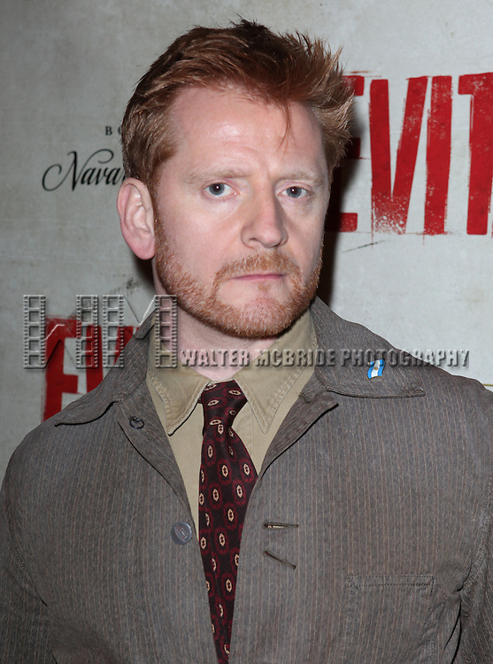 Christopher Oram.attending the Broadway Opening Night Performance of 'EVITA' at the Marquis Theatre in New York City on 4/5/2012 © Walter McBride / WM Photography