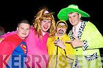FANCY DRESS: Enjoying the craic at the Banna hotel Halloween Party on Saturday l-r: Keith O'Flaherty, Kilflynn, D.J. O'Halloran, Listowel and Joseph O'Carroll and John B O'Halloran, Kilmoyley.