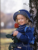 Interlitho, CHILDREN, photos, girl, tree, rose(KL15979,#K#) Kinder, niños