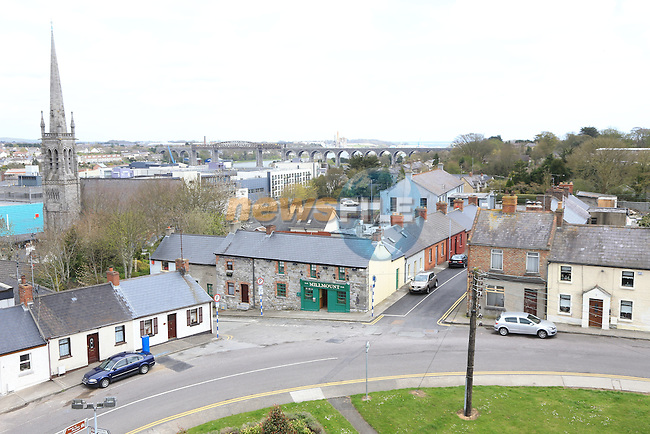 View from Millmount.Picture: Fran Caffrey / www.newsfile.ie ..