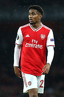 Reiss Nelson of Arsenal during Arsenal vs Standard Liege, UEFA Europa League Football at the Emirates Stadium on 3rd October 2019
