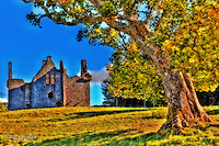 Glenbuchat Castle was the home of several branches of the Gordon clan built on a Z plan in 1590 on high ground above the River Don.<br /> Glenbuchat Castle was built for John Gordon a hero of the Jacobite rebellions.<br /> <br /> www.dsider.co.uk dsider online magazine, whats on Guide Donside,photography courses
