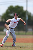 Garrett Frechette (70) of Cathedral Catholic High School in Vista, California during the Under Armour Baseball Factory National Showcase, Florida, presented by Baseball Factory on June 13, 2018 the Joe DiMaggio Sports Complex in Clearwater, Florida.  (Nathan Ray/Four Seam Images)