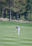 August 4, 2012:  Stuart Applebyfrom Victoria, Australia hits an approach shot on the 6th fairway during the third round of the 2012 Reno-Tahoe Open Golf Tournament at Montreux Golf & Country Club in Reno, Nevada.