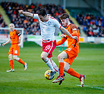 17.04.18 Brechin City v Dundee utd:<br /> Anthony Ralston (R) and Kalvin Orsi