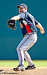 6 March 2007: Atlanta Braves pitcher Kevin Barry in Grapefruit League action against the Washington Nationals at Space Coast Stadium in Viera, Florida.<br /> <br /> Mandatory Photo Credit: Ed Wolfstein Photo