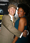 Kevin Geer & Saidah Arrika Ekulona attending the Opening Night for the Labyrinth Theater Company's World Premiere of a New Play UNCONDITIONAL at the Public Theatre with an after party at Colors Restaurant in New York City.<br /> February 18, 2008