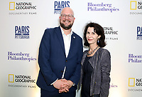 "LONDON, UK - DECEMBER 11: Theo Blackwell and Katherine Oliver attend the London Premiere of Bloomberg and National Geographic's ""Paris to Pittsburgh"" at the BAFTA Theatre on December 11, 2018 in London, UK. (Photo by Vianney Le Caer/National Geographic/PictureGroup)"