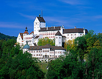 Deutschland, Bayern, Oberbayern, Chiemgau: Schloss Hohenaschau | Germany, Bavaria, Upper Bavaria, Chiemgau: Castle Hohenaschau