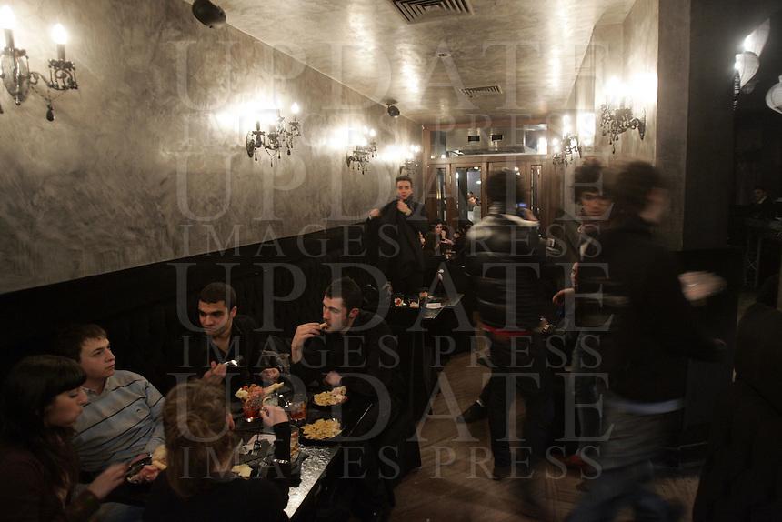 Il locale notturno Noir, ex Capocaccia, a Firenze<br /> Nightlife Noir, ex Capocaccia, in Florence.<br /> UPDATE IMAGES PRESS/Riccardo De Luca