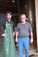 Philippe and Paul Zinck owner dom paul zinck eguisheim alsace france