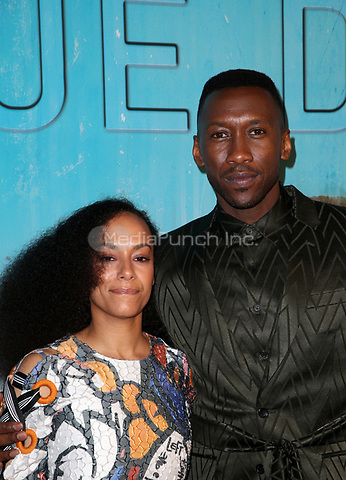 LOS ANGELES, CA - JANUARY 10: Amatus Sami-Karim, Mahershala Ali, at the Los Angeles Premiere of HBO's True Detective Season 3 at the Directors Guild Of America in Los Angeles, California on January 10, 2019. Credit: Faye Sadou/MediaPunch