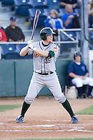 Boise Hawks' Paul Hoilman #35 at bat against the Everett AquaSox at Everett Memorial Stadium on July 30, 2011.  (Ronnie Allen/Four Seam Images)