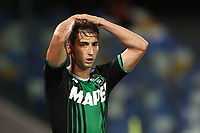 Filip Djuricic US Sassuolo dejection<br /> during the Serie A football match between SSC  Napoli and US Sassuolo at stadio San Paolo in Naples ( Italy ), July 25th, 2020. Play resumes behind closed doors following the outbreak of the coronavirus disease. <br /> Photo Cesare Purini / Insidefoto