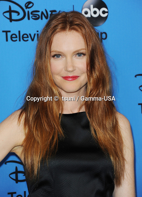 Darby Stanchifield  arriving 2013 Disney / ABC tea summer press tour at the  the Beverly Hilton hotel.