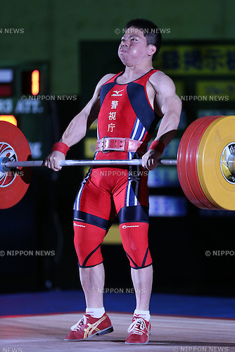 Yoichi Itokazu, <br /> MAY 21, 2016 - Weightlifting : <br /> All Japan Weightlifting Championship 2016 Men's -62kg <br /> at Yamanashi Municipal Gymnasium, Yamanashi, Japan. <br /> (Photo by AFLO SPORT)