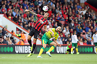 Steve Cook of Bournemouth gets his head to the aerial ball during the Premier League match between Bournemouth and Norwich City at Goldsands Stadium on October 19th 2019 in Bournemouth, England. (Photo by Mick Kearns/phcimages.com)<br /> Foto PHC/Insidefoto <br /> ITALY ONLY