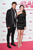 LONDON, UK. November 24, 2016: Matt Terry &amp; Emily Middlemas at the 2016 ITV Gala at the London Palladium Theatre, London.<br /> Picture: Steve Vas/Featureflash/SilverHub 0208 004 5359/ 07711 972644 Editors@silverhubmedia.com