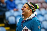 Children's entertainer Timmy Mallett has a look around Turf Moor before the kick off<br /> <br /> Photographer Alex Dodd/CameraSport<br /> <br /> The Premier League - Burnley v West Ham United - Sunday 30th December 2018 - Turf Moor - Burnley<br /> <br /> World Copyright © 2018 CameraSport. All rights reserved. 43 Linden Ave. Countesthorpe. Leicester. England. LE8 5PG - Tel: +44 (0) 116 277 4147 - admin@camerasport.com - www.camerasport.com