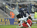 31/01/2009  Copyright Pic: James Stewart.File Name : sct_jspa08_falkirk_v_aberdeen.MICHAEL HIGDON SCORES FALKIRK'S GOAL.James Stewart Photo Agency 19 Carronlea Drive, Falkirk. FK2 8DN      Vat Reg No. 607 6932 25.Studio      : +44 (0)1324 611191 .Mobile      : +44 (0)7721 416997.E-mail  :  jim@jspa.co.uk.If you require further information then contact Jim Stewart on any of the numbers above.........
