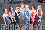 Out of seven contestants, Ashley Maunsell (centre) was crowned the Castlegregory summer festival 2013 queen seen pictured here with l-r: Laura Fitzgerald, Aime Byrne, Hanna Hennessy, Catriona Browne, Erin Hoare and Beth Flynn.