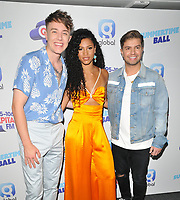 Roman Kemp, Vick Hope and Sonny Jay at the Capital FM Summertime Ball 2019, Wembley Stadium, Wembley, London, England, UK, on Saturday 08th June 2019.<br /> CAP/CAN<br /> ©CAN/Capital Pictures
