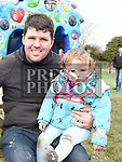 Corey and Sophia Byrne at the Easter Egg Hunt at the Millitary and War Museum at Collon. Photo:Colin Bell/pressphotos.ie