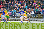 Marc O Se sprints past Donegal's Michael Murphy during their Allainz league clash in Fitzgerald Stadium on Sunday