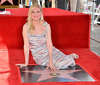 Kirsten Dunst Star Ceremony