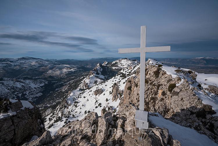 Cumbre del Pla de la Casa (1379 metros), Quatretondeta, Alicante