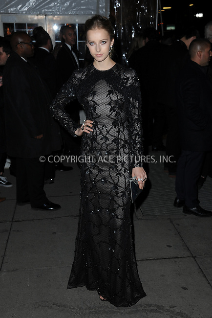 www.acepixs.com<br /> February 8, 2017  New York City<br /> <br /> Natalie Ludwig attending the amfAR New York Gala 2017 at Cipriani Wall Street on February 8, 2017 in New York City.<br /> <br /> Credit: Kristin Callahan/ACE Pictures<br /> <br /> Tel: 646 769 0430<br /> Email: info@acepixs.com