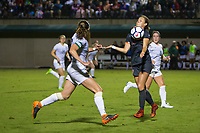 STANFORD, CA - August 24, 2018: Jordan DiBiasi at Laird Q. Cagan Stadium. The Stanford Cardinal defeated the USF Dons 5-1.