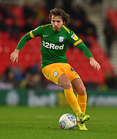 Preston North End's Ben Pearson<br /> <br /> Photographer Dave Howarth/CameraSport<br /> <br /> The EFL Sky Bet Championship - Stoke City v Preston North End - Wednesday 12th February 2020 - bet365 Stadium - Stoke-on-Trent <br /> <br /> World Copyright © 2020 CameraSport. All rights reserved. 43 Linden Ave. Countesthorpe. Leicester. England. LE8 5PG - Tel: +44 (0) 116 277 4147 - admin@camerasport.com - www.camerasport.com