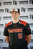 Brenden Murray (16) of Pioneer High School in West Sacramento, California during the Baseball Factory All-America Pre-Season Tournament, powered by Under Armour, on January 12, 2018 at Sloan Park Complex in Mesa, Arizona.  (Zachary Lucy/Four Seam Images)