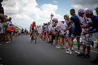Greg Van Avermaet (BEL/CCC) up the Col du Galibier (HC/2622m/23km@5.1%)<br /> <br /> Stage 18: Embrun to Valloire (208km)<br /> 106th Tour de France 2019 (2.UWT)<br /> <br /> ©kramon