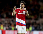 George Friend of Middlesbrough during the English Premier League match at Riverside Stadium, Middlesbrough. Picture date: April 26th, 2017. Pic credit should read: Jamie Tyerman/Sportimage